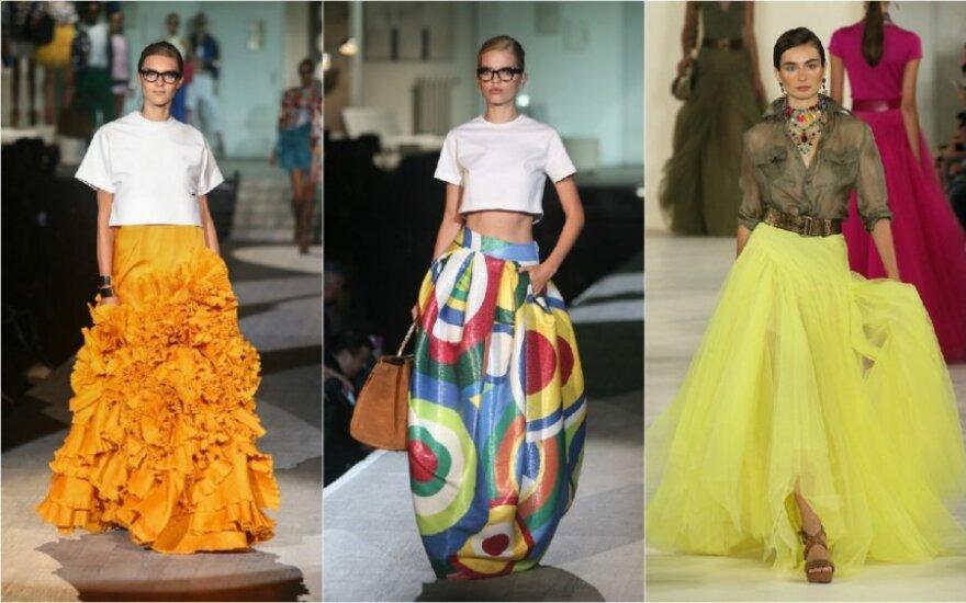 Madingiausi sijonai vasarai: pasiruoškite šluoti gatves