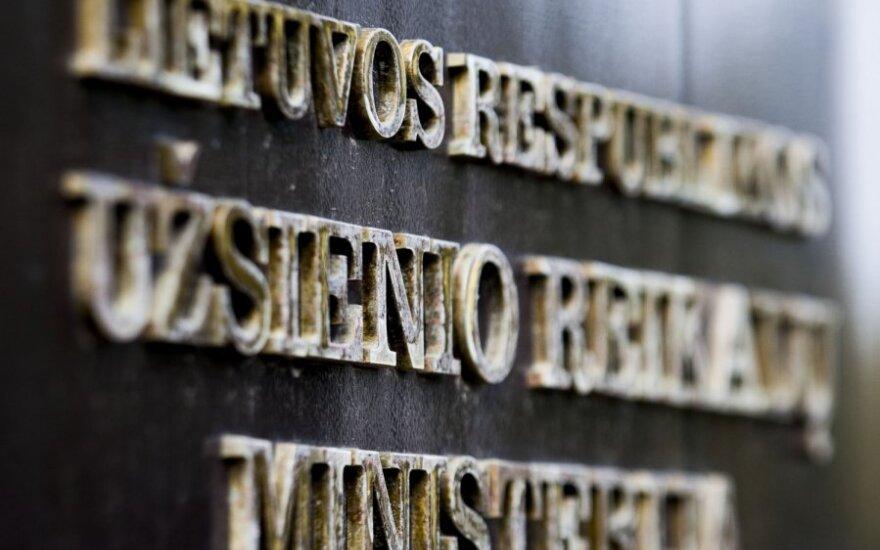 URM dėl Krymo okupacijos: Lietuva tvirtai remia Ukrainos suverenitetą ir teritorinį vientisumą