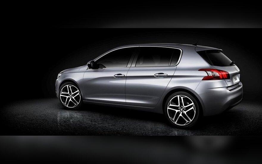 """Atskleista, kaip atrodys naujasis """"Peugeot 308"""""""