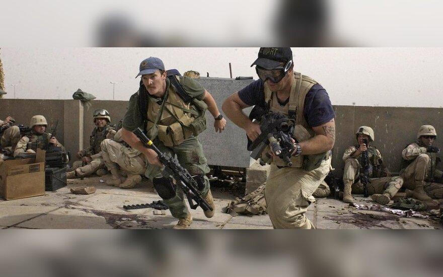 Vokiečių žiniasklaida: Ukrainoje kovoja JAV kariai