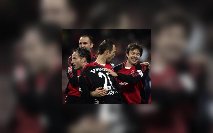 """Nürnberg"" ekipos futbolininkai"
