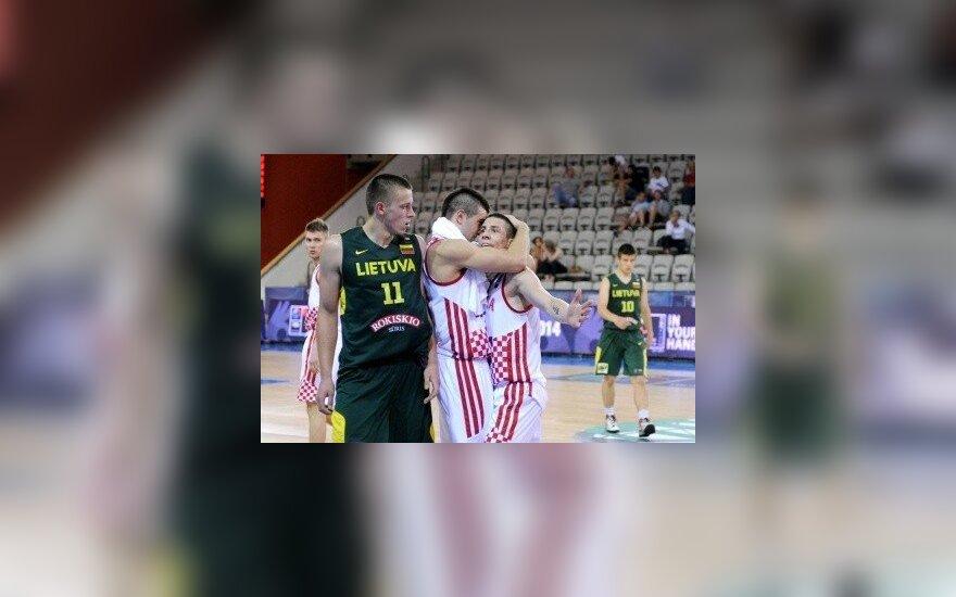 Pasaulio U-19 krepšinio čempionatas: Lietuva - Kroatija