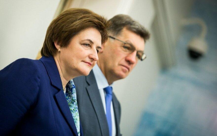 Loreta Graužinienė and PM Algirdas Butkevičius