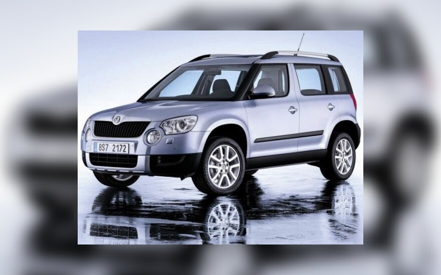"""""""Škoda Yeti"""" – pirmasis čekų kompaktiškas visureigis"""