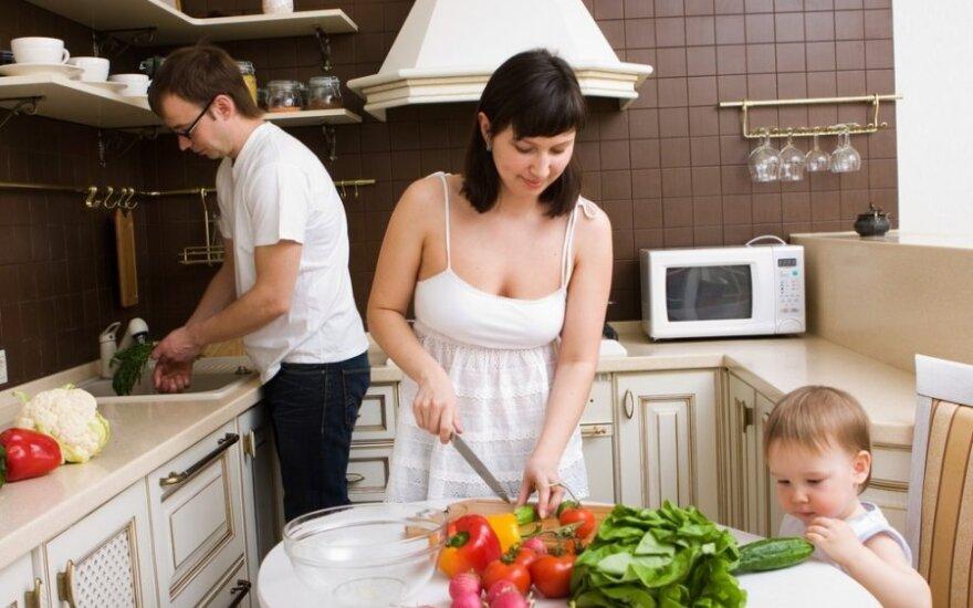 Vegetariška mityba, šeimos