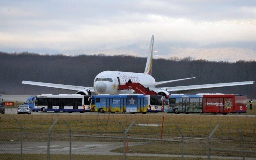 Netikėtas posūkis: Etiopijos lėktuvą užgrobė pilotas