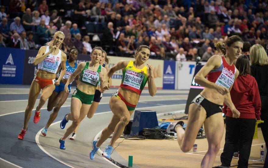 Europos uždarų patalpų lengvosios atletikos čempionatas, Agnė Šerkšnienė