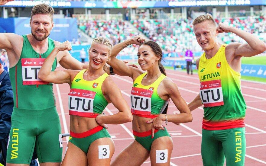 Lietuvos lengvaatlečiai Europos žaidynėse