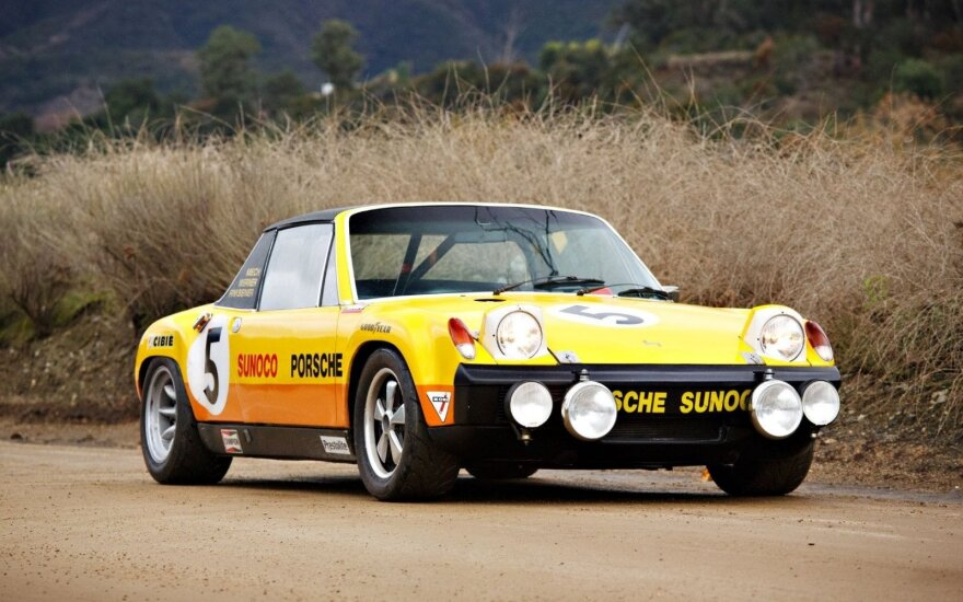 Porsche 914/6 GT. Gooding & Company nuotr.