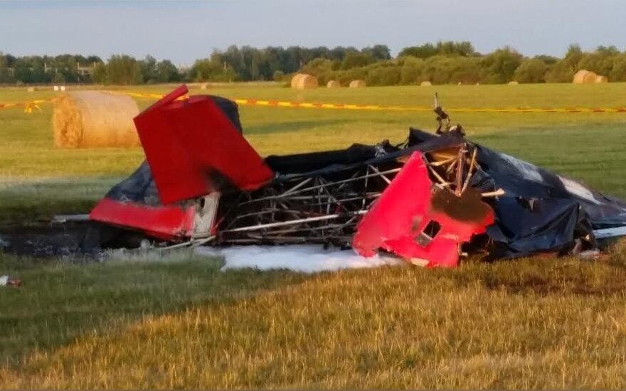 Kyviškių aerodrome žuvo Nacionalinio aeroklubo vadovas