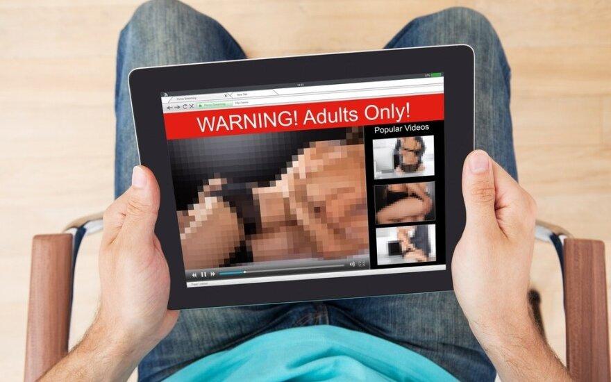Gelbėkit, mano vyras žiūri pornografiją