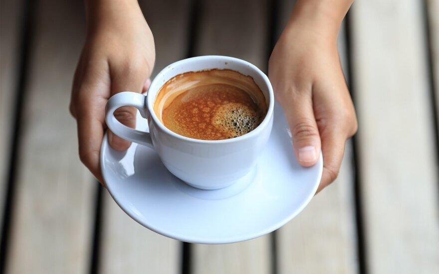 Puodelis kavos