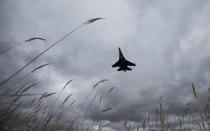 NATO fighter-jets scrambled from Lithuania last week over 3 Russian warplanes