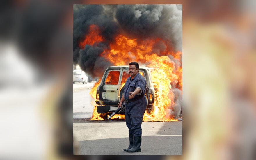 Sprogimas Bagdado gatvėje