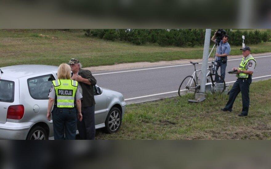Aktorius P. Dimša su žuvusio dviratininko artimaisiais susitiks teisme