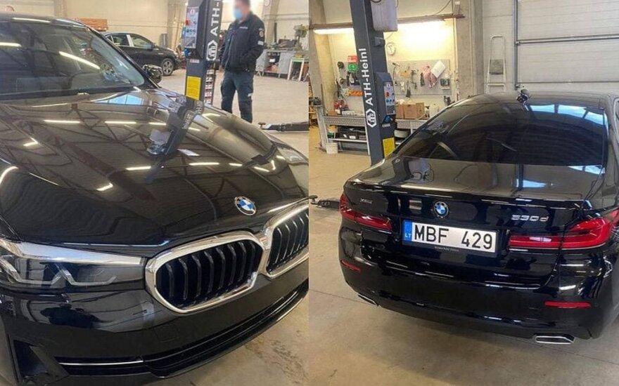 Į Lietuvos gatves išrieda naujas nežymėtas policijos BMW: be šio yra ir 10 kitų automobilių