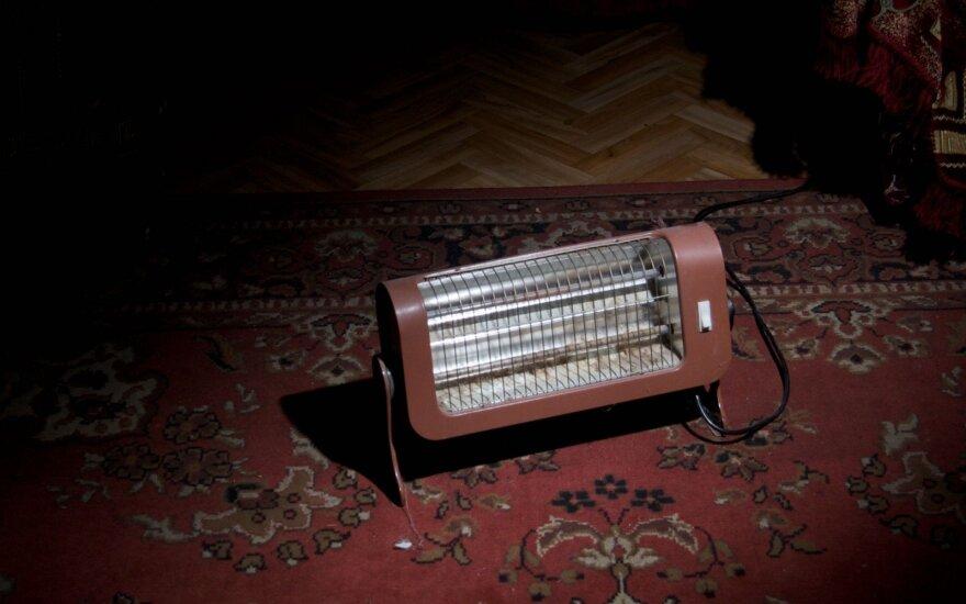 5 atsargumo priemonės, kad šildytuvas nesukeltų gaisro