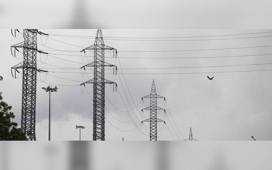 Elektros linijos keliui nebetrukdys