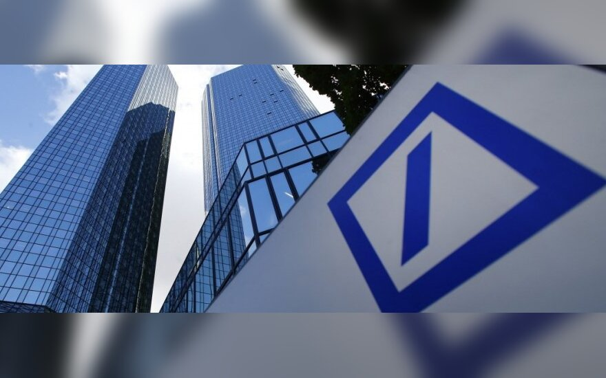"""Deutsche Bank"" gali bandyti Kinijoje gauti licenciją"