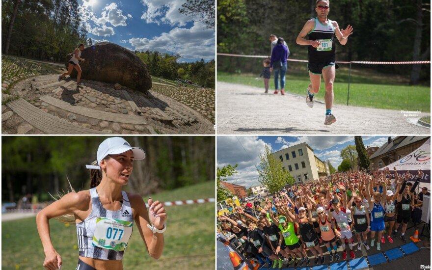 """56-as bėgimas """"Anykščiai – Puntuko akmuo"""" / FOTO: Rokas Lukoševičius"""