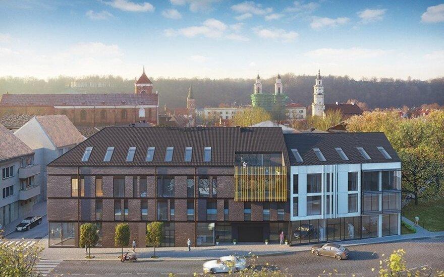Kauno senamiestyje iškils nauji apartamentai