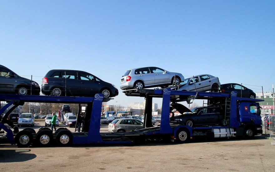 Naudotų automobilių rinka šiemet augo 18,9 proc.