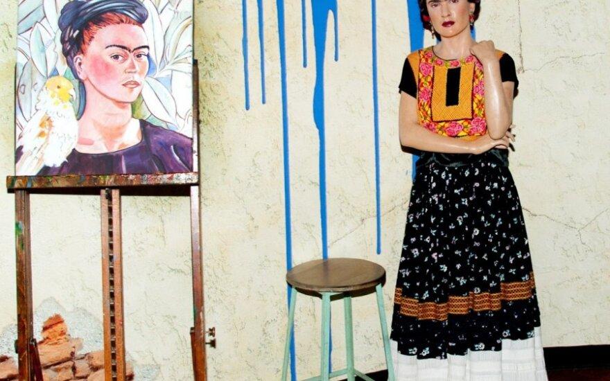 Frida Kahlo Madam Tiuso muziejuje