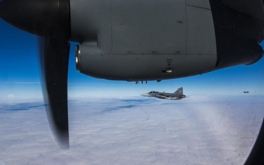 NATO air policing intercepted one Russian military aircraft last week