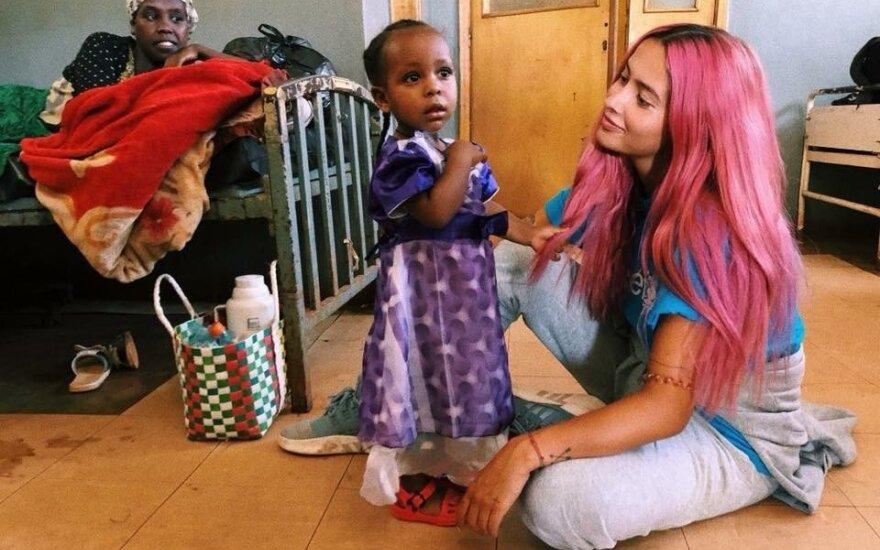 Karolinos Meschino UNICEF misija Etiopijoje