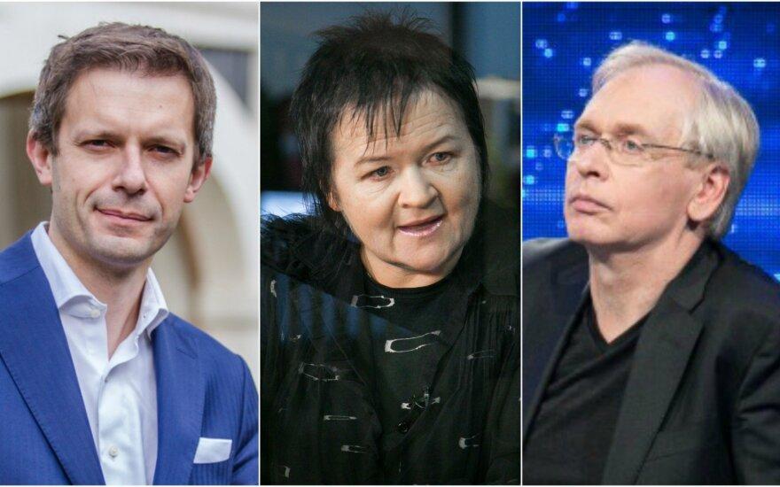 Andrius Tapinas, Dalia Ibelhauptaitė, Gintaras Rinkevičius