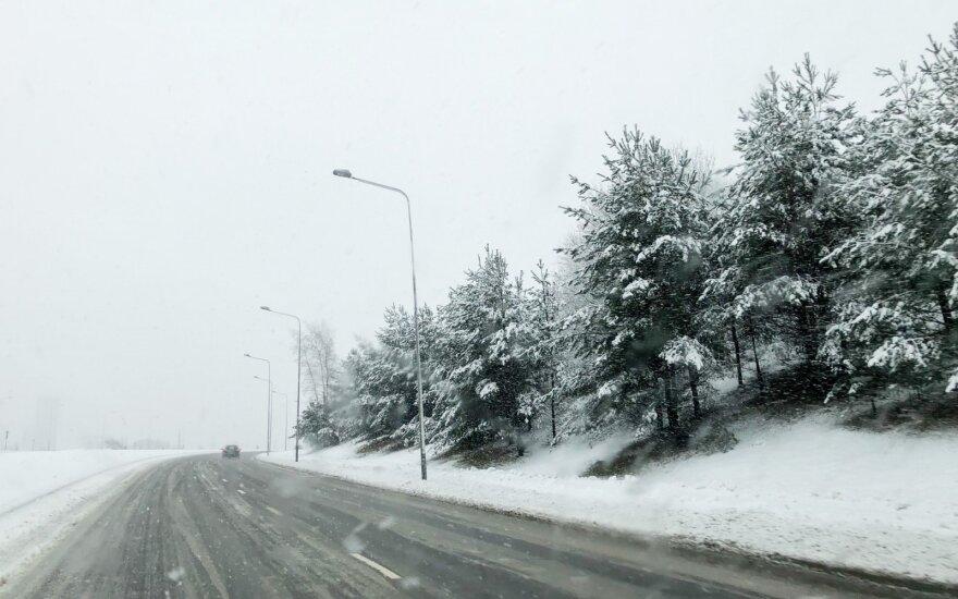 Lapkričio pabaigą gali papuošti sniegas: o kaip Kalėdos?