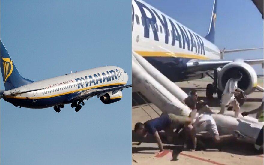 """Nemalonus incidentas """"Ryanair"""" lėktuve: gyvenime neteko matyti tiek išsigandusių žmonių"""