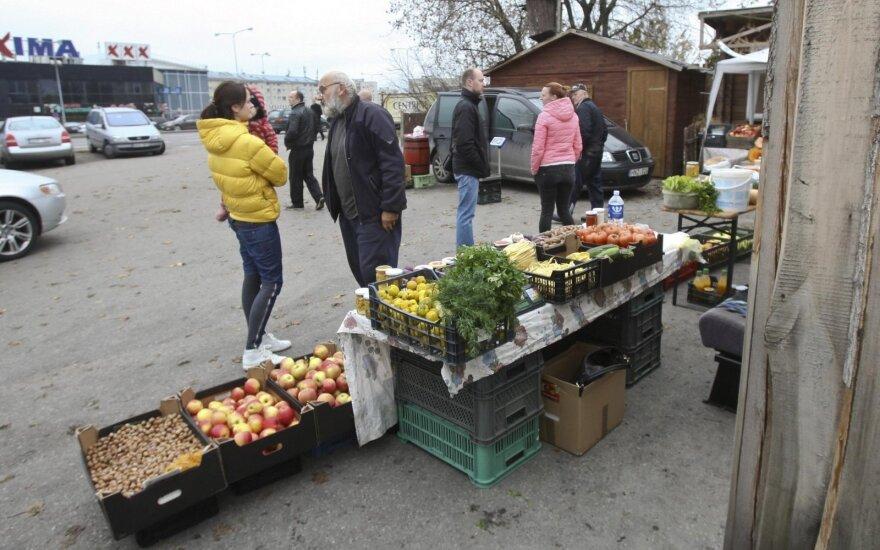 Po gaisro Ukmergės g. turgus pradės veikti šį savaitgalį
