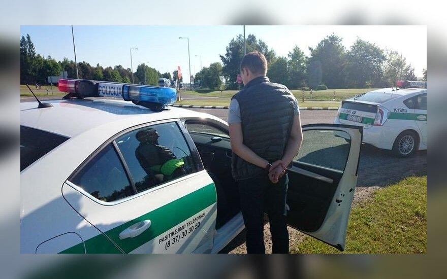 Kauno policijos reidas