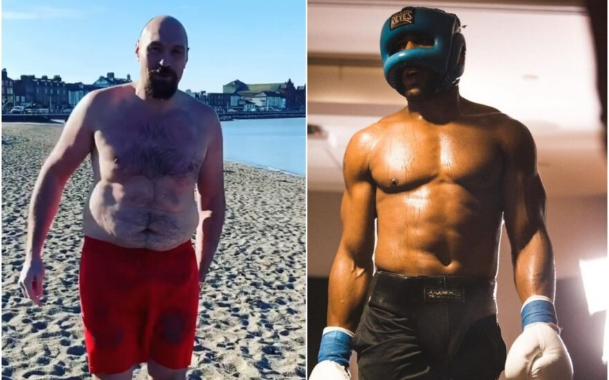 Tysonas Fury, Anthony Joshua