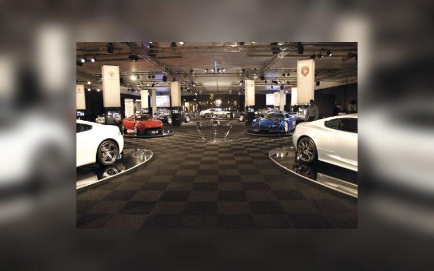 Londono automobilių paroda