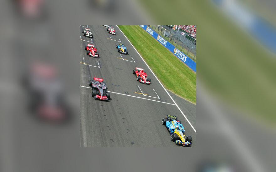 Silverstone lenktynių trasa