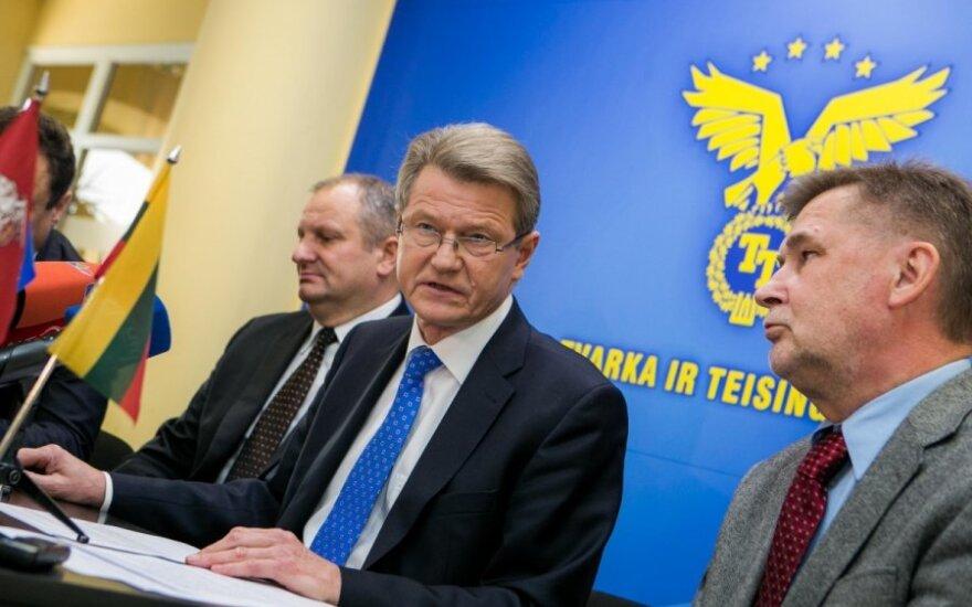 Kęstas Komskis, Rolandas Paksas ir Valdas Vasiliauskas