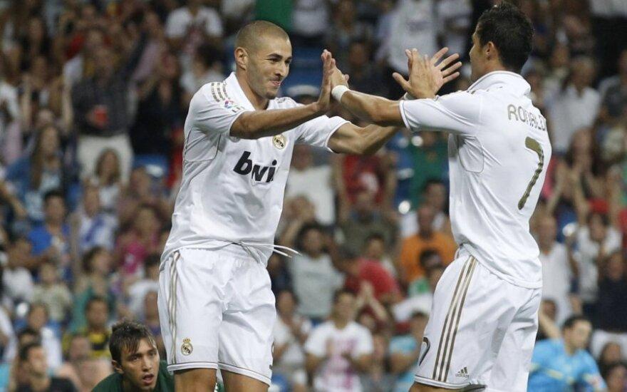 "Karimas Benzema ir Cristiano Ronaldo (""Real"")"