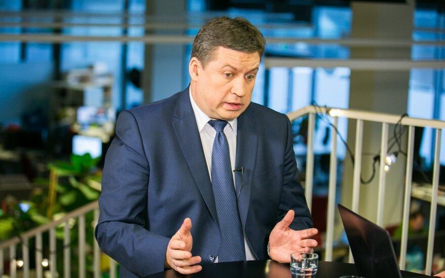Naujasis KAM vadovas R. Karoblis: kaip J. Olekas kalbėjęs tikrai nebūčiau