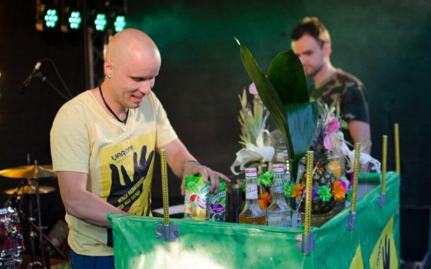 Pasiektas didžiausio nealkoholinio kokteilio rekordas Lietuvoje <sup>FOTO</sup>