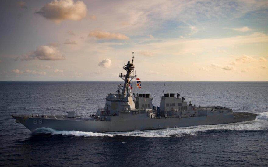 "Eskadrinis minininkas ""USS Preble"""