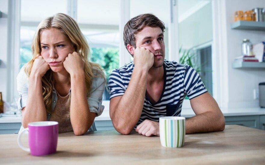 Ką daryti, kai santykiai ima slėgti?