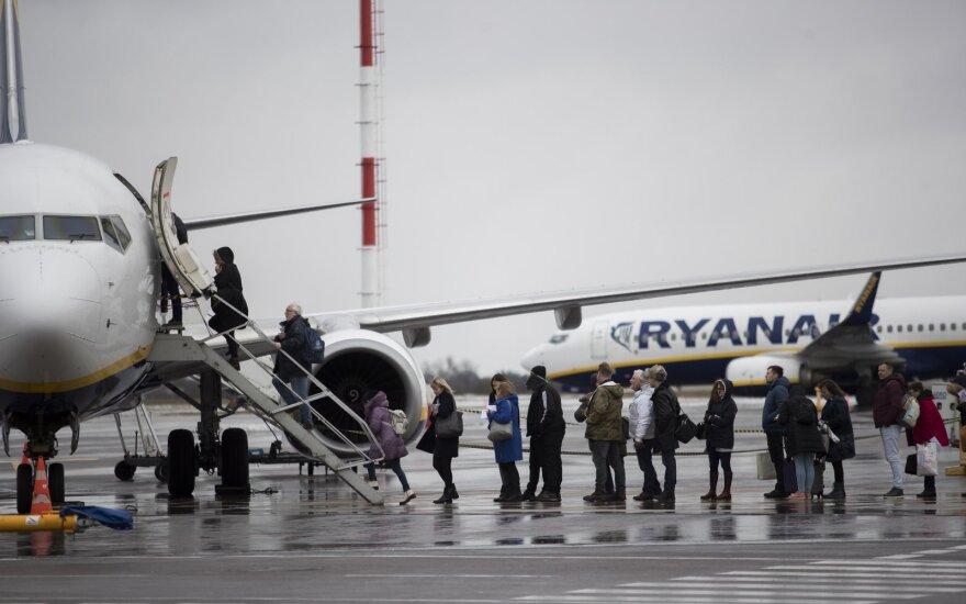 Vilniaus oro uoste VSAT pasieniečiai sulaikė 6 metus ieškotą vyrą
