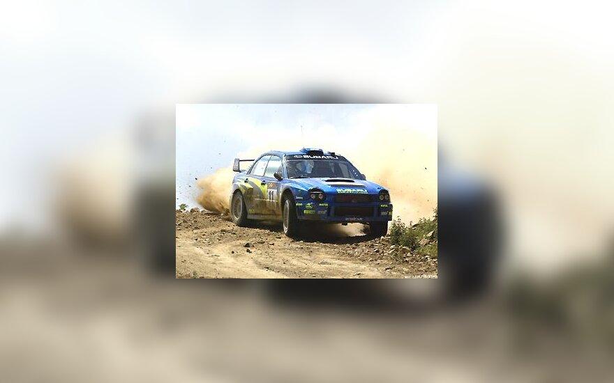 """Petter Solberg, """"Subaru Impreza WRC 2002"""""""