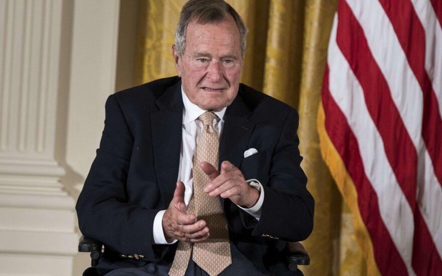 George H W Bush