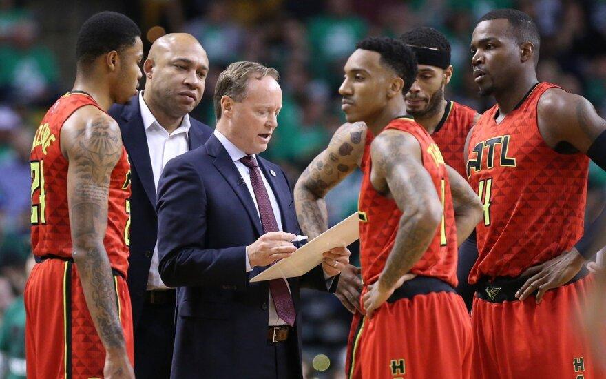 """Atlantos """"Hawks"""" krepšininkai"""