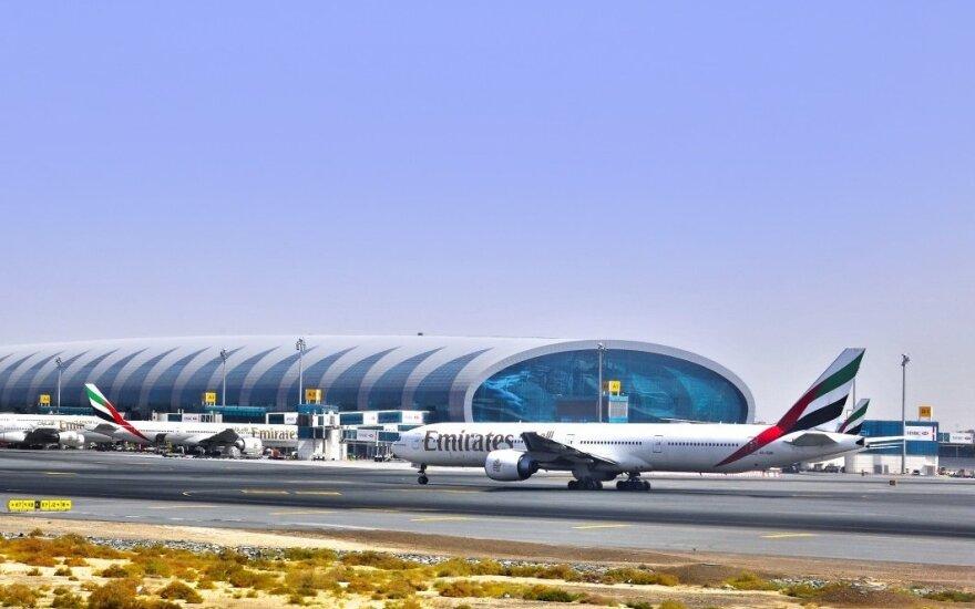 """""""Emirates"""" tapo """"AviaAM Leasing"""" kliente"""