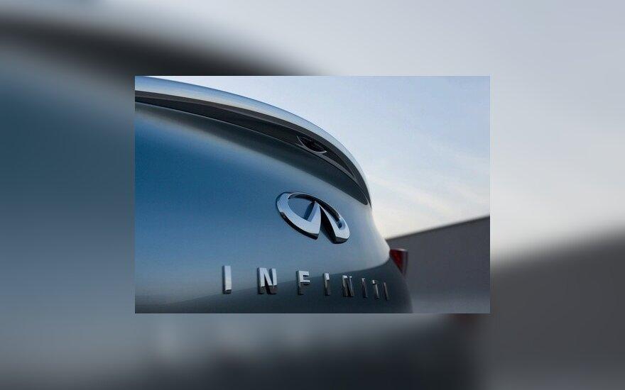 "Pirmasis prabangus ""Infiniti"" elektromobilis – 2013 metais"