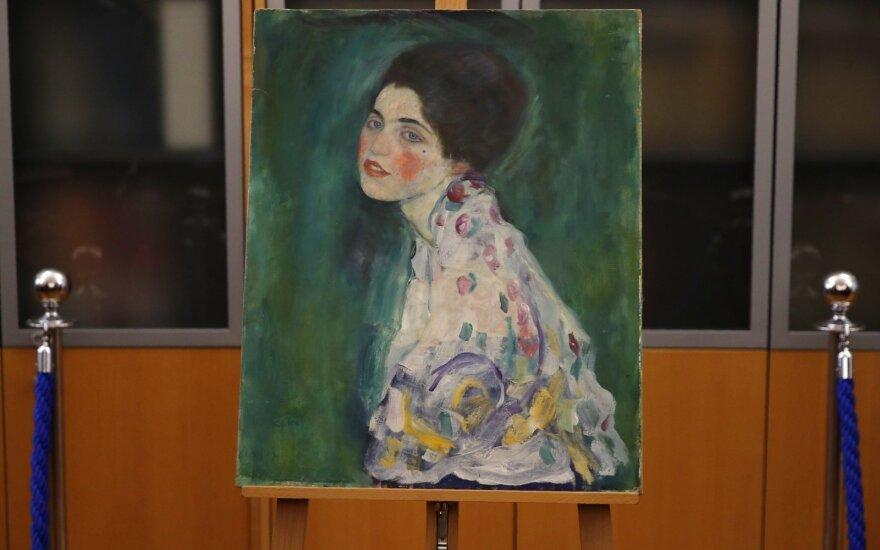 Italijoje rastas dingęs Gustavo Klimto paveikslas